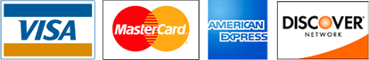 All Major Debit/Credit cards
