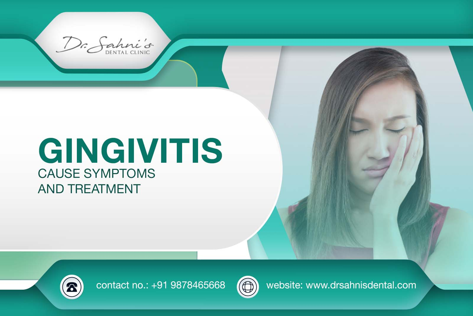 Cause, Symptoms and Treatment of Gingivitis