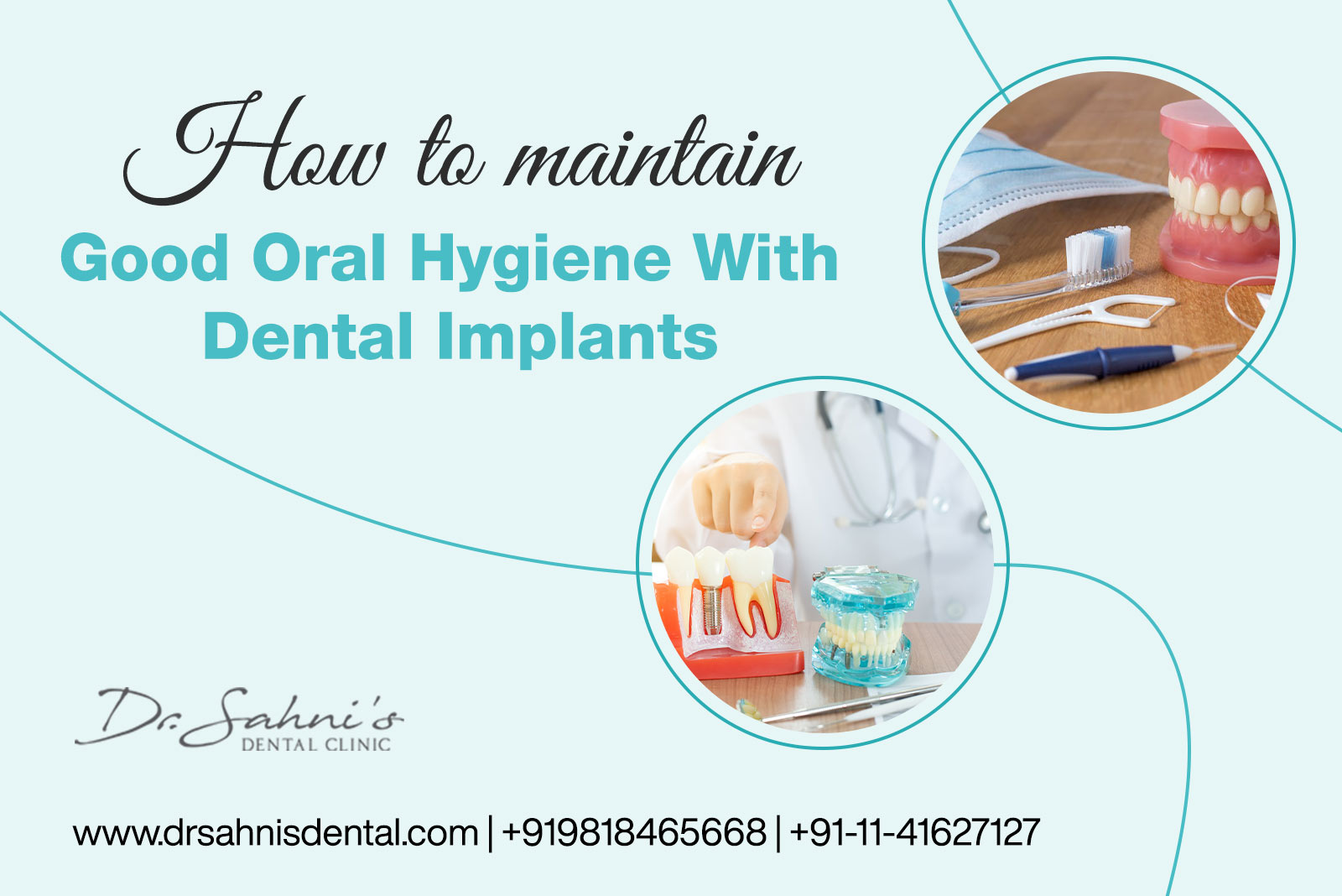 Oral Hygiene With Dental Implants