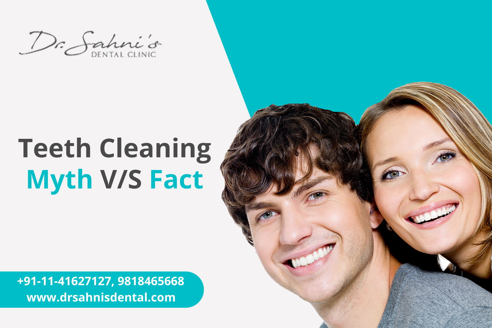 Teeth Cleaning: Myths V/S Facts